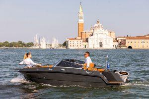 Barco eléctrico Magonis Wave e-550